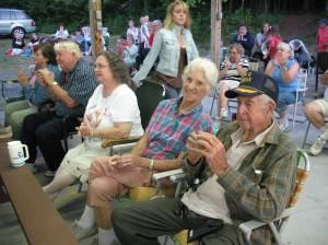 10th Mt. Division Audience Members