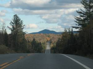 Tupper Road towards Long Lake