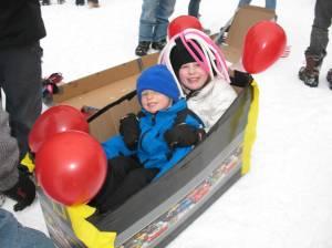 Winners of Mini Kids Race