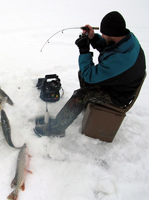 Ice Fishing Moments