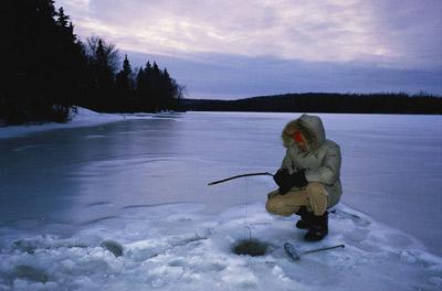 new ice fishing equipment