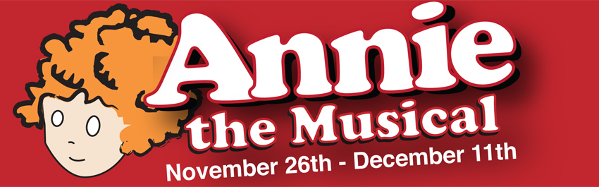 Annie The Musical Promo Banner